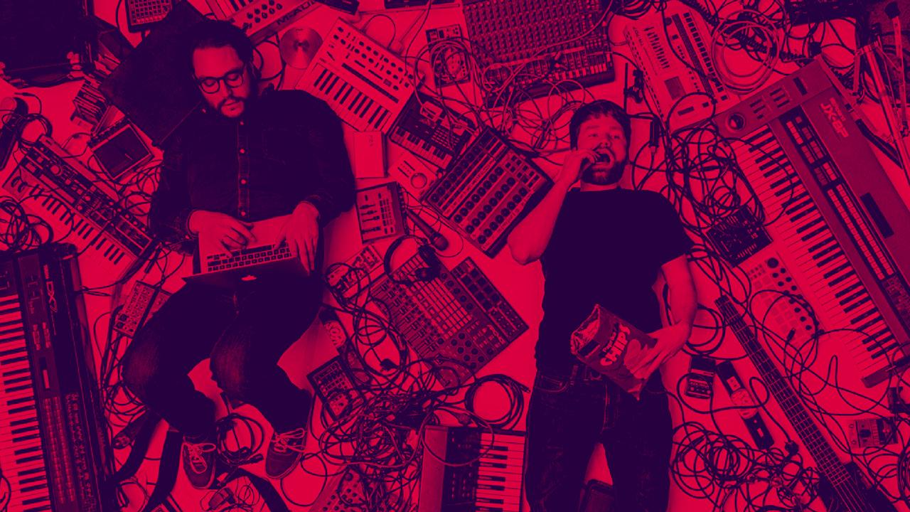 Muutes spielen am 26.5.2018 auf dem Futur 2 Festival in Hamburg-Entenwerder