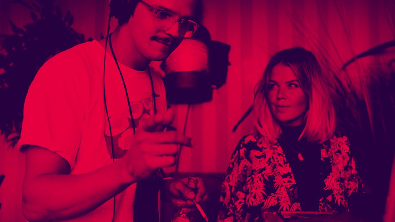 Vikja spielen am 26.5.2018 auf dem Futur 2 Festival in Hamburg-Entenwerder